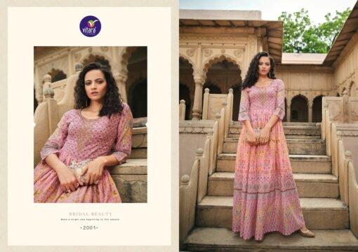 MULMUL vitara fashion Dress Material Wholesale