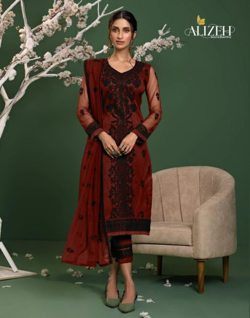 ALIZEH ZAIDA VOL-6Dress Material Wholesale With Price