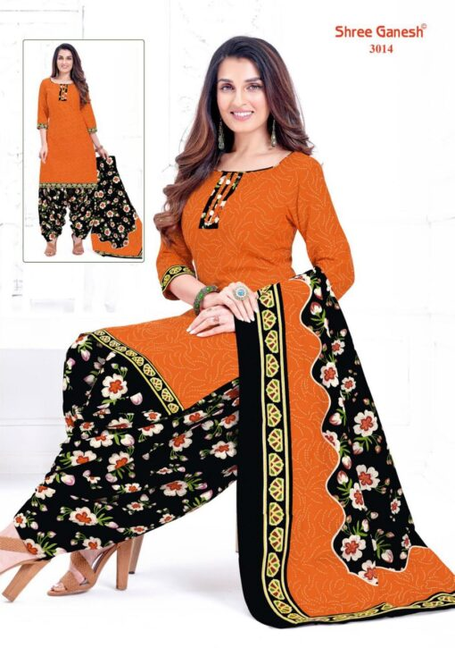 Buy Shree Ganesh Hansika Vol-10 Cotton Dress Material Wholesale