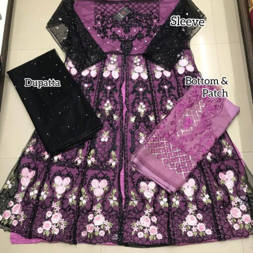 Designer Suits Pakistani With Patch Work