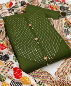 Non-Catalog Suits In Surat Embroidery With Sequence Work