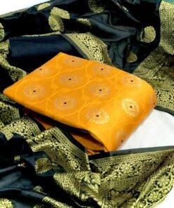 Non-Catalog Suits Wholesale Banarasi Silk Suits 1