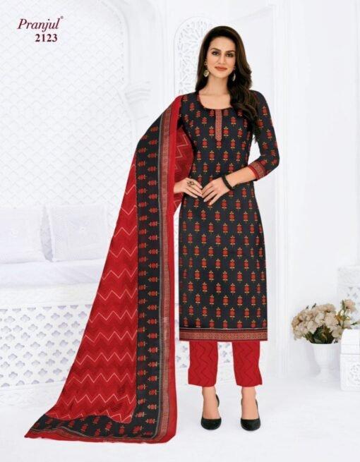 Pranjul Priyanshi Vol-21 Cotton Dress Material Catalog Wholesale