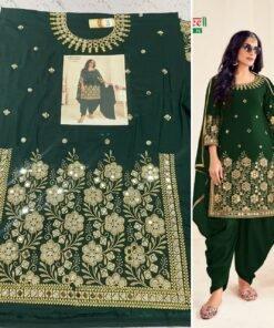 Semi-Stitched Patiyala Suit Wholesale Catalogs Bebo Vol- 6