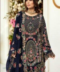Exclusive Pakistani New Dress Design 01