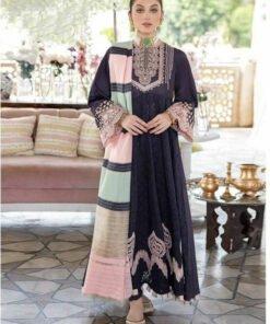 Pakistani Cotton Schiffli Work Beautiful Design