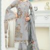 Fox Georgette Heavy Embroidered Pakistani Suits 02