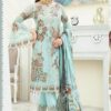 Fox Georgette Heavy Embroidered Pakistani Suits 04