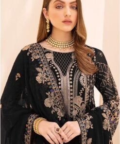 Heavy Georgette Embroidered Pakistani Suits