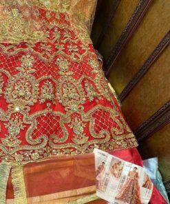 Heavy Net Embroidered Pakistani Suits